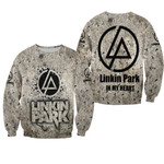 Linkin Park In My Heart Rock band Logo 3D Designed Allover Gift For Linkin Park Fans Sweater