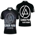 Linkin Park A Thousand Suns In My Heart Rock band Logo Black 3D Designed Allover Gift For Linkin Park Fans Polo shirt