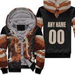 DMX American rapper Vapor Black 3D Designed Allover Custom Gift For DMX Fans Fleece Hoodie