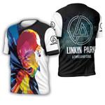 Linkin Park A Thousand Suns Chester Bennington Art Rock band Logo 3D Designed Allover Gift For Linkin Park Fans 3D T-shirt