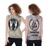 Linkin Park In My Heart The Best Rock band Logo 3D Designed Allover Gift For Linkin Park Fans Sleeveless Hoodie