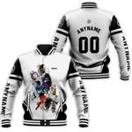 Linkin Park Legend Members Rock band Logo White 3D Designed Allover Gift For Linkin Park Fans Baseball Jacket