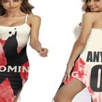 DMX The Best American rapper Logo 3D Designed Allover Custom Gift For DMX Fans Back Cross Dress