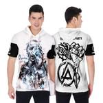 Linkin Park Castle Of Glass Chester Bennington Rock band Logo White 3D Designed Allover Gift For Linkin Park Fans Short Sleeve Hoodie