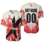 DMX The Best American rapper Logo 3D Designed Allover Custom Gift For DMX Fans Baseball Jersey