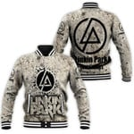 Linkin Park In My Heart Rock band Logo 3D Designed Allover Gift For Linkin Park Fans Baseball Jacket
