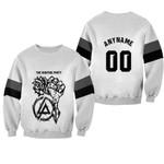 Linkin Park Rock band Special Logo Black White 3D Designed Allover Custom Gift For Linkin Park Fans Sweater