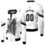 Linkin Park Legend Warriors Rock band Logo White 3D Designed Allover Custom Gift For Linkin Park Fans Fleece Bomber Jacket