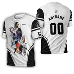 Linkin Park Legend Members Rock band Logo White 3D Designed Allover Gift For Linkin Park Fans 3D T-shirt
