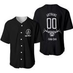 Linkin Park Rock band Logo Black 3D Designed Allover Gift For Linkin Park Fans Baseball Jersey