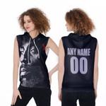 DMX American rapper Avatar Black 3D Designed Allover Custom Gift For DMX Fans Sleeveless Hoodie
