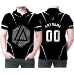 Linkin Park Famous Songs Rock band Logo Black 3D Designed Allover Custom Gift For Linkin Park Fans Polo shirt