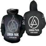 Linkin Park A Thousand Suns In My Heart Rock band Logo Black 3D Designed Allover Gift For Linkin Park Fans Hoodie