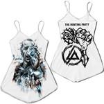 Linkin Park Castle Of Glass Chester Bennington Rock band Logo White 3D Designed Allover Gift For Linkin Park Fans Romper Jumpsuit