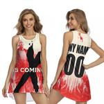 DMX The Best American rapper Logo 3D Designed Allover Custom Gift For DMX Fans Sleeveless Dress