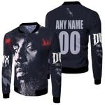 DMX American rapper Avatar Black 3D Designed Allover Custom Gift For DMX Fans Fleece Bomber Jacket