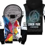 Linkin Park A Thousand Suns Chester Bennington Art Rock band Logo 3D Designed Allover Gift For Linkin Park Fans Fleece Hoodie
