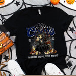 Jack Skellington Coors Banquet Nightmare Before Drink Spooky Halloween Gift For Jack Skellington Fans Tshirt