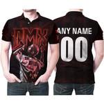 DMX Legend On Stage American rapper Black 3D Designed Allover Custom Gift For DMX Fans Polo shirt