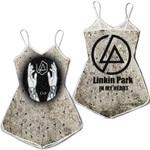Linkin Park In My Heart The Best Rock band Logo 3D Designed Allover Gift For Linkin Park Fans Romper Jumpsuit
