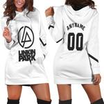 Linkin Park Rock band Logo White Gradient 3D Designed Allover Custom Gift For Linkin Park Fans Hoodie Dress