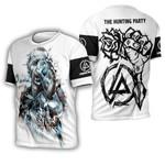 Linkin Park Castle Of Glass Chester Bennington Rock band Logo White 3D Designed Allover Gift For Linkin Park Fans 3D T-shirt