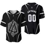 Linkin Park Famous Songs Rock band Logo Black 3D Designed Allover Custom Gift For Linkin Park Fans Baseball Jersey