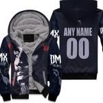 DMX American rapper Avatar Black 3D Designed Allover Custom Gift For DMX Fans Fleece Hoodie