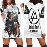 Linkin Park Legend Members Art Rock band Logo White 3D Designed Allover Gift For Linkin Park Fans Hoodie Dress