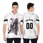 Linkin Park Legend Warriors Rock band Logo White 3D Designed Allover Custom Gift For Linkin Park Fans Short Sleeve Hoodie