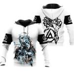 Linkin Park Castle Of Glass Chester Bennington Rock band Logo White 3D Designed Allover Gift For Linkin Park Fans Hoodie