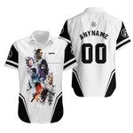 Linkin Park Legend Members Rock band Logo White 3D Designed Allover Gift For Linkin Park Fans Hawaiian Shirt
