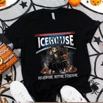 Jack Skellington Icehouse Nightmare Before Drink Spooky Halloween Gift For Jack Skellington Fans Tshirt