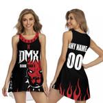 DMX American rapper Boxer Black 3D Designed Allover Custom Gift For DMX Fans Sleeveless Dress
