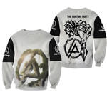 Linkin Park Legend Rock band Logo Black White 3D Designed Allover Gift For Linkin Park Fans Sweater