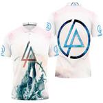 Linkin Park Angels Rock band Logo White 3D Designed Allover Gift For Linkin Park Fans Polo shirt