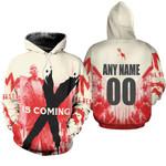 DMX The Best American rapper Logo 3D Designed Allover Custom Gift For DMX Fans Hoodie