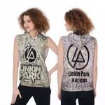 Linkin Park In My Heart Rock band Logo 3D Designed Allover Gift For Linkin Park Fans Sleeveless Hoodie