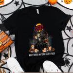 Jack Skellington Burger King Nightmare Before Coffee Spooky Halloween Gift For Jack Skellington Fans Tshirt