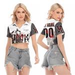 DMX Sounds Vibes Radio American rapper Black White 3D Designed Allover Custom Gift For DMX Fans V-neck Lapel Blouse