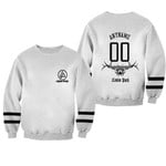 Linkin Park Rock band Logo White 3D Designed Allover Gift For Linkin Park Fans Sweater