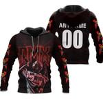 DMX Legend On Stage American rapper Black 3D Designed Allover Custom Gift For DMX Fans Hoodie
