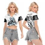 Linkin Park Castle Of Glass Chester Bennington Rock band Logo White 3D Designed Allover Gift For Linkin Park Fans V-neck Lapel Blouse