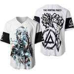 Linkin Park Castle Of Glass Chester Bennington Rock band Logo White 3D Designed Allover Gift For Linkin Park Fans Baseball Jersey