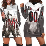 DMX Sounds Vibes Radio American rapper Black White 3D Designed Allover Custom Gift For DMX Fans Hoodie Dress