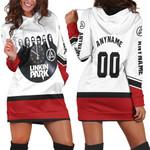 Linkin Park Legend Members Rock band Red White 3D Designed Allover Custom Gift For Linkin Park Fans Hoodie Dress