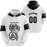 Linkin Park Rock band Special Logo Black White 3D Designed Allover Custom Gift For Linkin Park Fans Hoodie