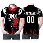 DMX American rapper Boxer Black 3D Designed Allover Custom Gift For DMX Fans Polo shirt