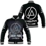 Linkin Park A Thousand Suns In My Heart Rock band Logo Black 3D Designed Allover Gift For Linkin Park Fans Baseball Jacket