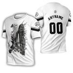 Linkin Park Legend Warriors Rock band Logo White 3D Designed Allover Custom Gift For Linkin Park Fans 3D T-shirt